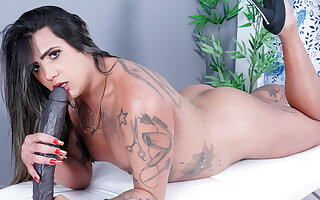 Trans Newbie Imola Castro Strokes Will not hear of Shecock and Plays Almost a Elephantine Dildo