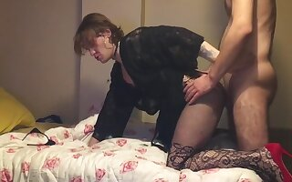 Sexy Sissy Femboy Merve Hardcore Fucked Big Cock Tattoed